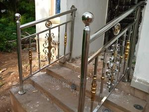 304 Stainless Handrails Gold Combi | Building Materials for sale in Abia State, Umuahia