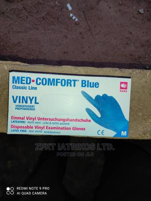 Med-Comfort Disposable Prepowdered Vinyl Exam Gloves   Medical Supplies & Equipment for sale in Lagos State, Alimosho