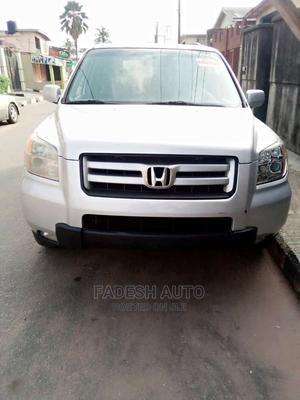 Honda Pilot 2007 EX-L 4x2 (3.5L 6cyl 5A) Silver | Cars for sale in Lagos State, Abule Egba