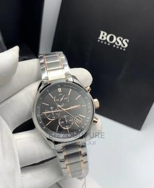 High Quality HUGO BOSS Silver Chain Watch for Men   Watches for sale in Lagos State, Magodo