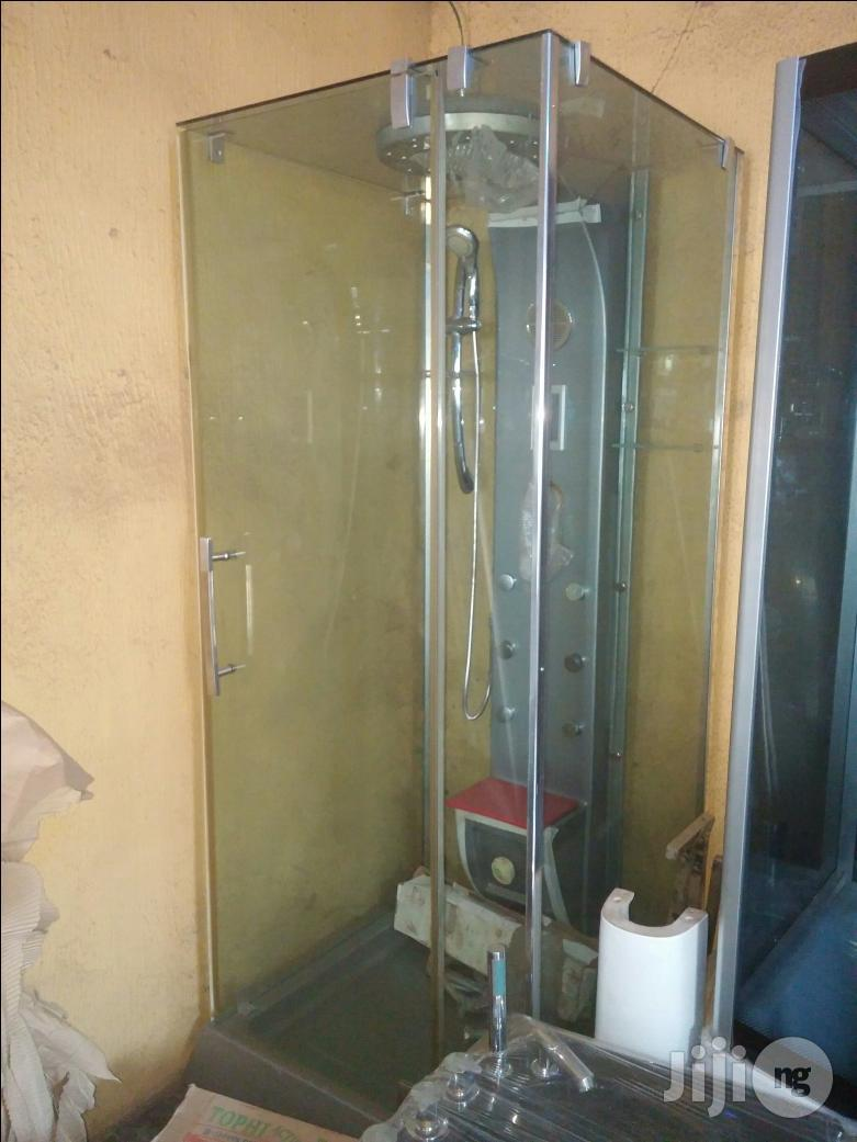 Glass Steam Bath Case