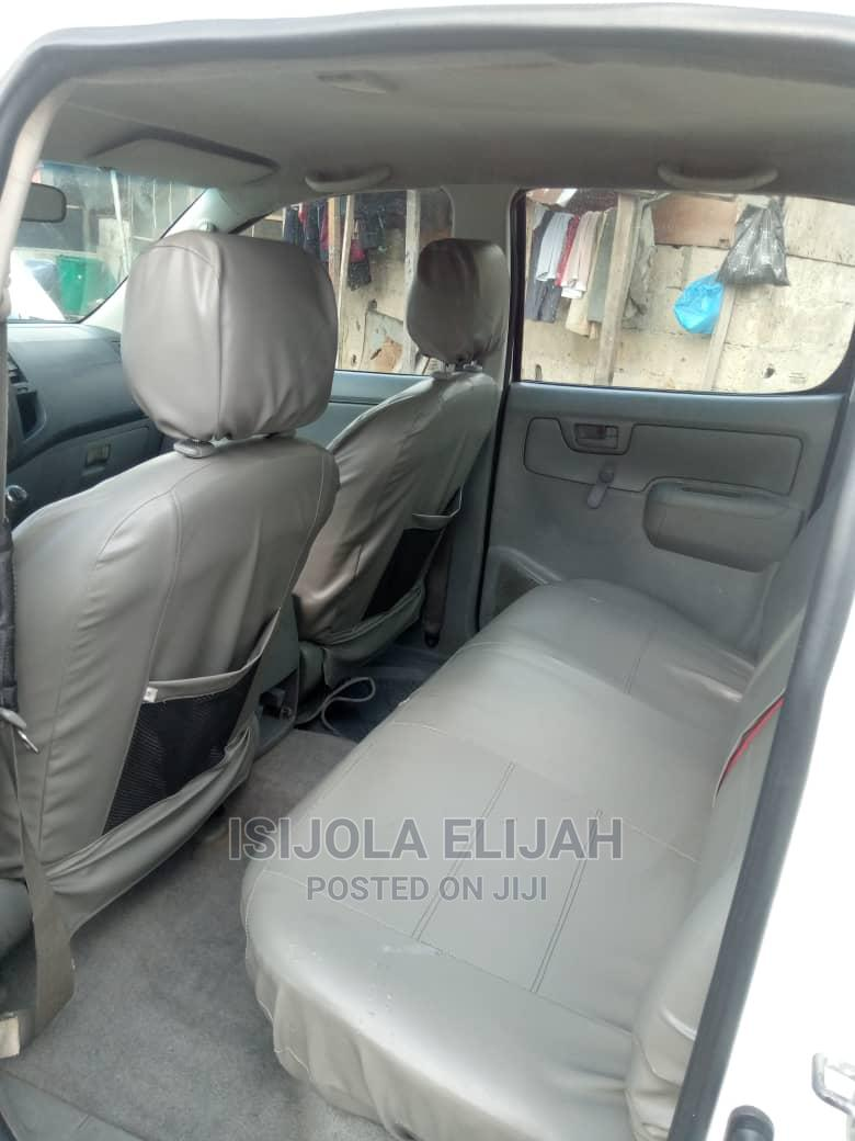 Toyota Hilux 2010 2.0 VVT-i White | Cars for sale in Port-Harcourt, Rivers State, Nigeria