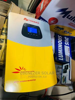 5kva / 24v Hybrid Yohako Inverter | Solar Energy for sale in Lagos State, Ojo