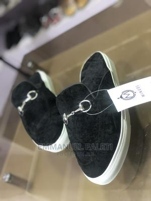 Black Velvet Sneakers Half Shoe   Shoes for sale in Lagos State, Mushin