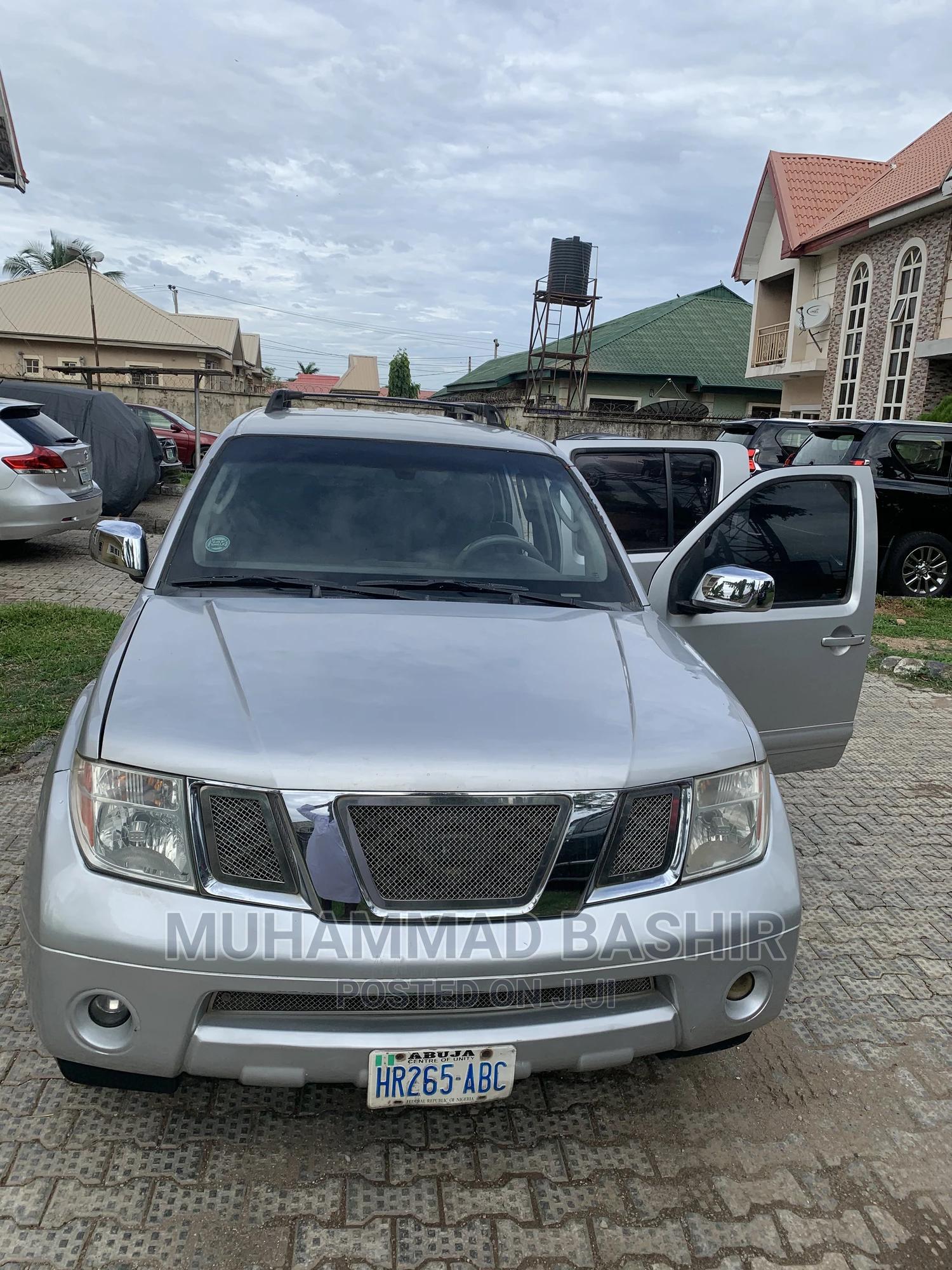 Nissan Pathfinder 2005 SE Silver