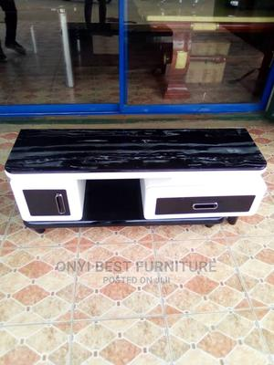 1.2m Glass Tv Stand   Furniture for sale in Lagos State, Ojo