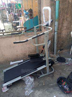 Manual Treadmill With Stepper and Twister | Sports Equipment for sale in Lagos State, Surulere