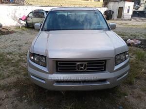 Honda Ridgeline 2008 RTL Silver | Cars for sale in Lagos State, Surulere
