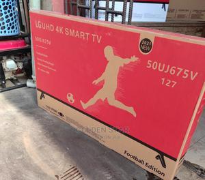 New One LG 50''inchs UHD 4K SMART Netflix ,Youtube Google Tv   TV & DVD Equipment for sale in Lagos State, Apapa