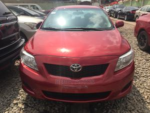 Toyota Corolla 2010 Red   Cars for sale in Lagos State, Agege