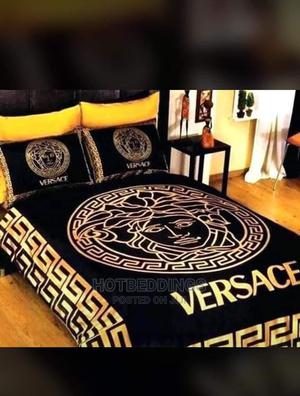 Quality Versace Duvet,Bedspread With 4 Pillowcases   Home Accessories for sale in Lagos State, Ilupeju