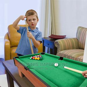 """24"""" Mini Tabletop Pool Table Set Indoor Billiards Table With 