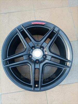 Size 18 Inches Smart Black for Mercedes Benz AMG Available   Vehicle Parts & Accessories for sale in Lagos State, Mushin