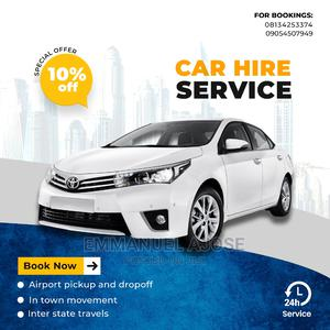 Car Hire in and Out of Lagos | Chauffeur & Airport transfer Services for sale in Lagos State, Ikeja