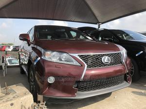Lexus RX 2013 350 F SPORT AWD Brown | Cars for sale in Lagos State, Apapa