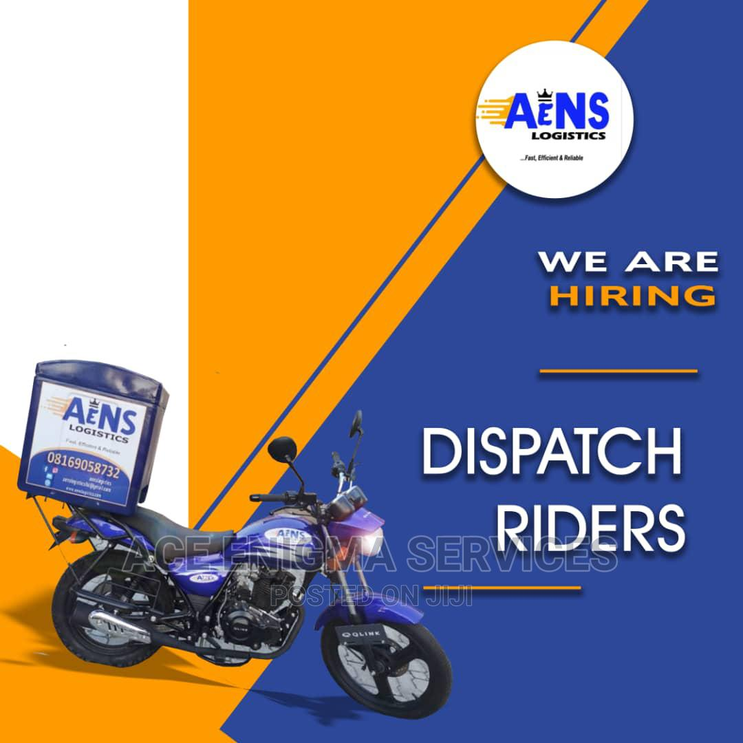 Archive: Delivery Dispatch Riders Wanted