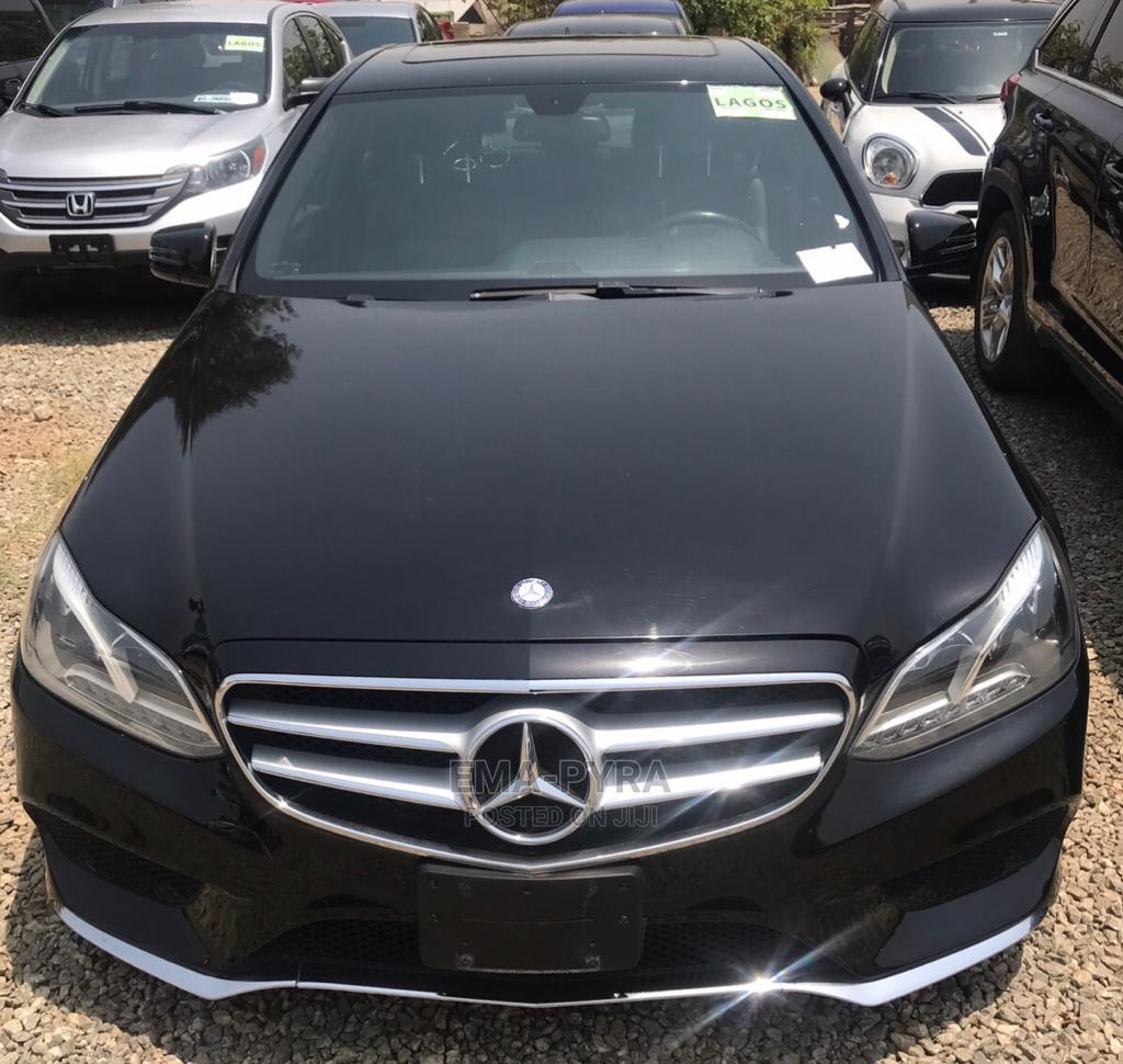 Mercedes-Benz E350 2015 Black | Cars for sale in Jabi, Abuja (FCT) State, Nigeria
