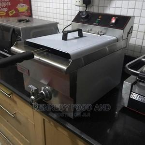 Electric Single Deep Fryer Wit Tap   Restaurant & Catering Equipment for sale in Lagos State, Ikeja