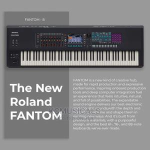 Roland FANTOM-8 Music Workstation 88-Key Keyboard | Musical Instruments & Gear for sale in Lagos State, Ojo