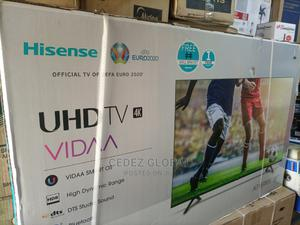 Hisense 55 Inches UHD TV   TV & DVD Equipment for sale in Lagos State, Ojo