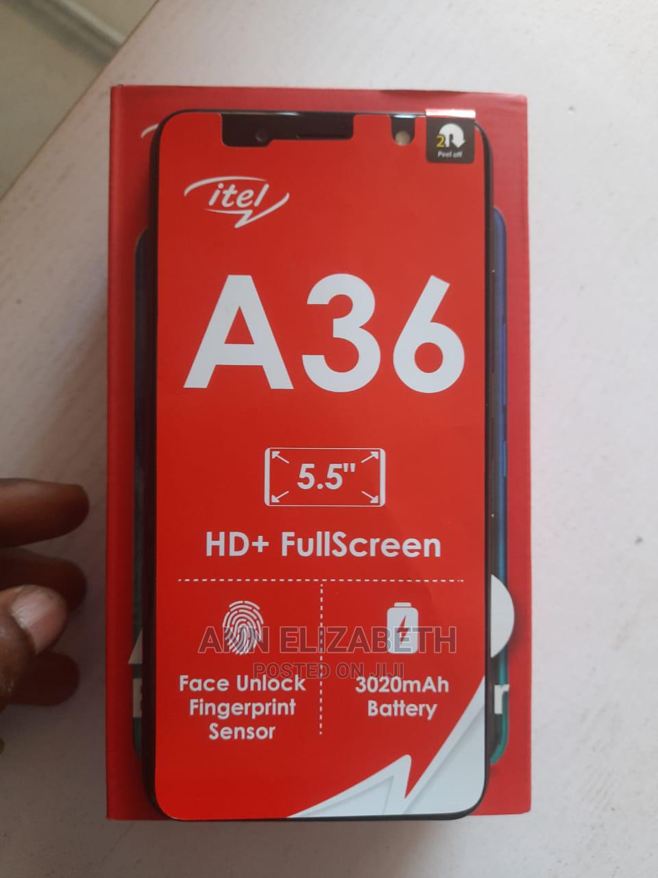 Archive: New Itel A36 16GB Blue