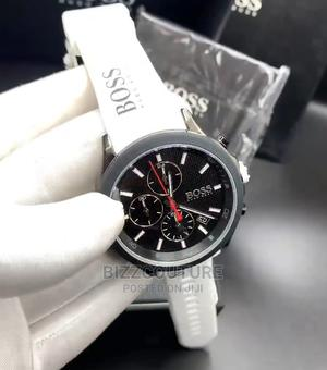 High Quality HUGO BOSS Rubber Watch for Men   Watches for sale in Lagos State, Magodo