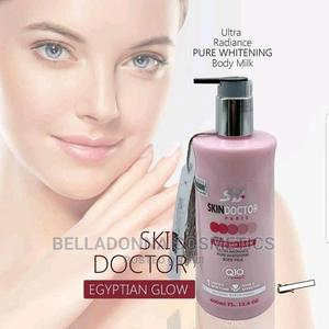 Skin Doctor Egyptian Glow Pure Lightening Body Milk 400ml | Skin Care for sale in Lagos State, Ipaja