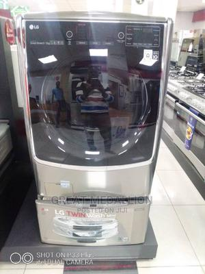 LG 21kg Washer and 12kg Dryer Together- LG Wmoc9dhk72tsingle | Home Appliances for sale in Lagos State, Ikotun/Igando