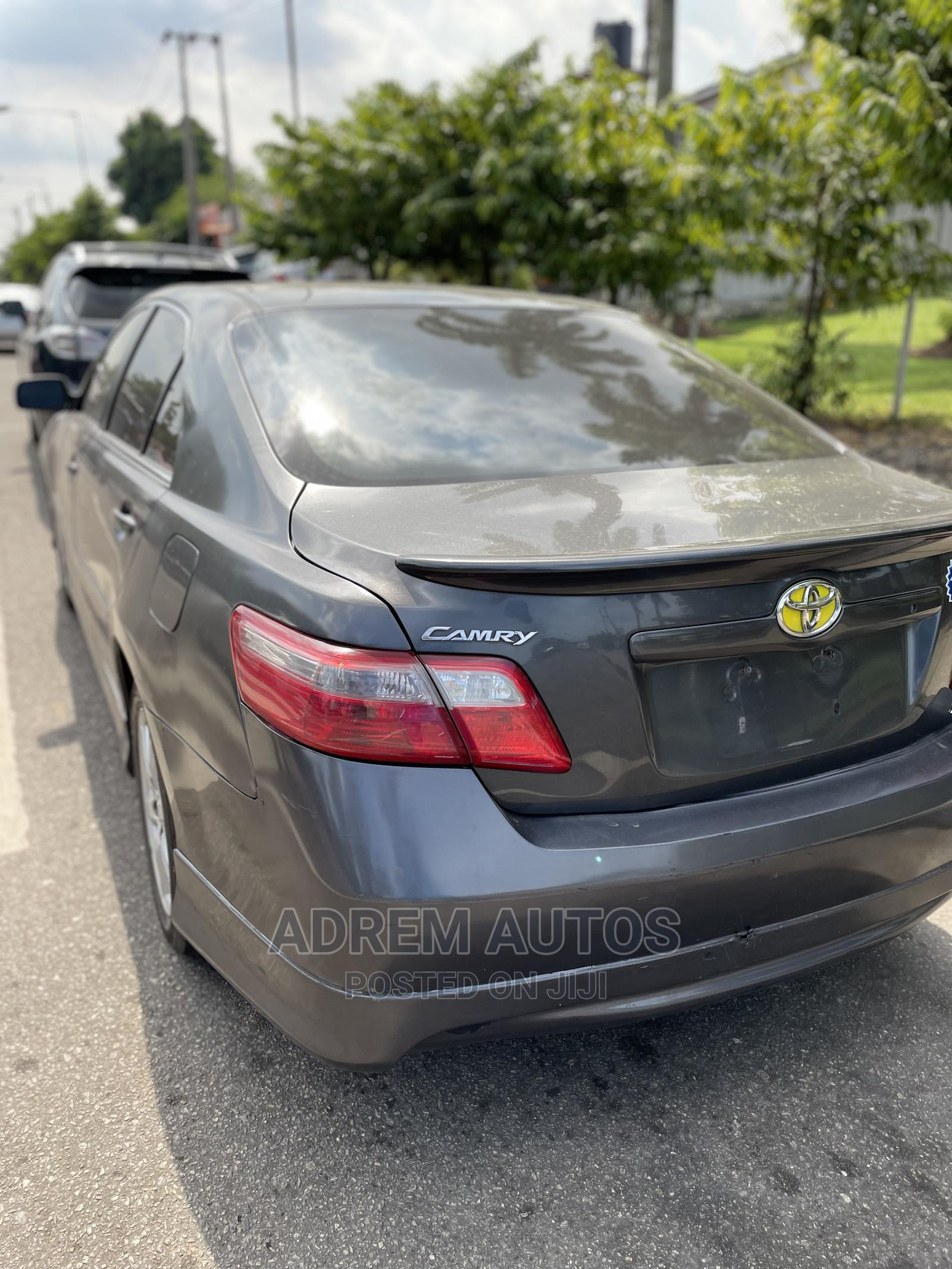 Toyota Camry 2008 2.4 SE Gray   Cars for sale in Ogba, Lagos State, Nigeria