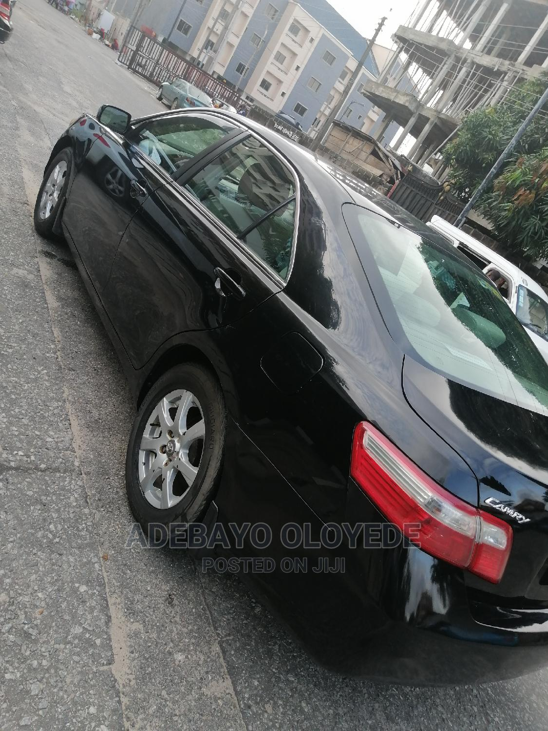 Toyota Camry 2008 2.4 LE Black | Cars for sale in Victoria Island, Lagos State, Nigeria