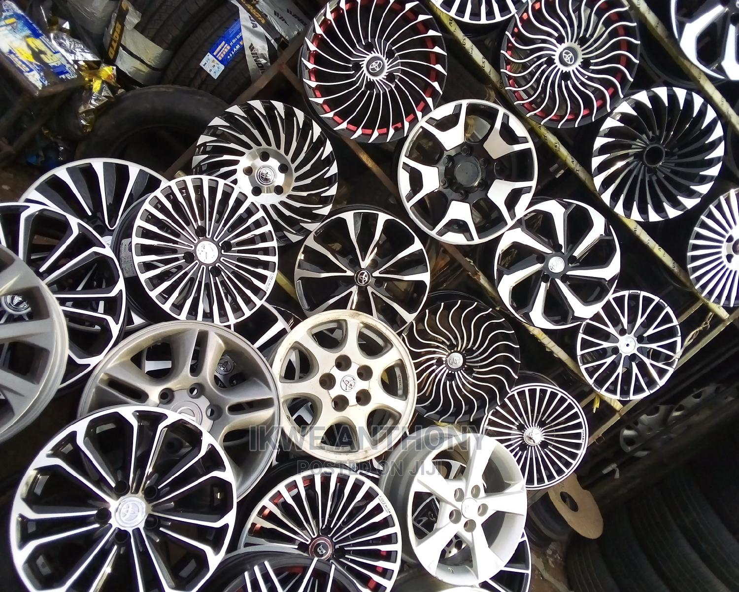 All Kinds of Wheels and Tires