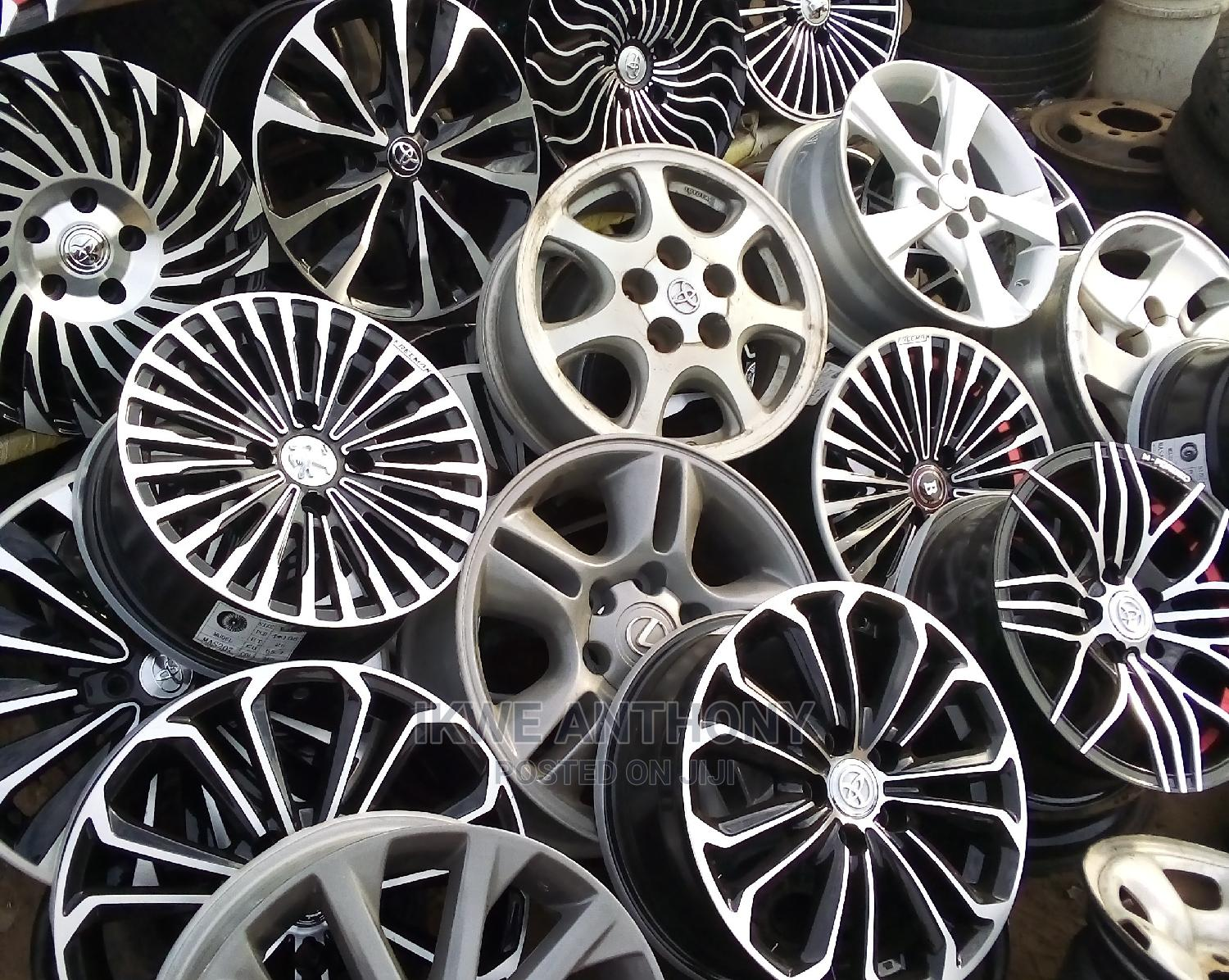 All Kinds of Rims and Tires