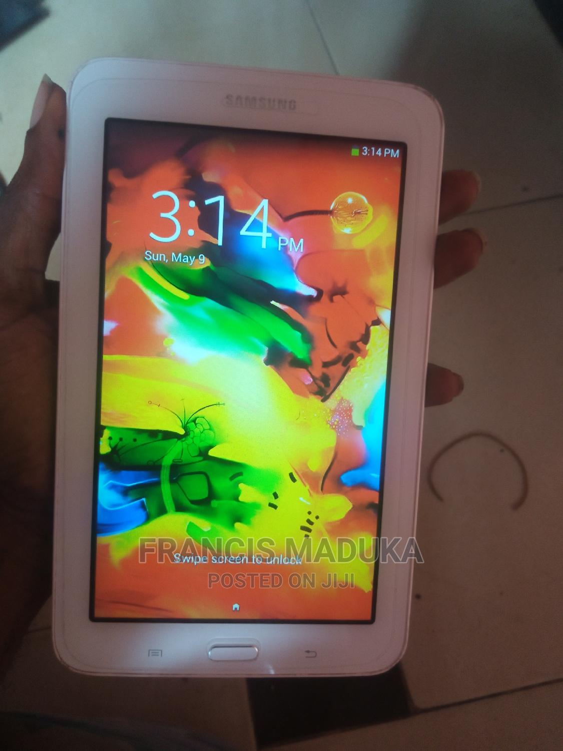 Samsung Galaxy Tab 3 Lite 7.0 8 GB White   Tablets for sale in Isolo, Lagos State, Nigeria