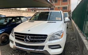 Mercedes-Benz M Class 2012 ML 350 4Matic White | Cars for sale in Lagos State, Ogba