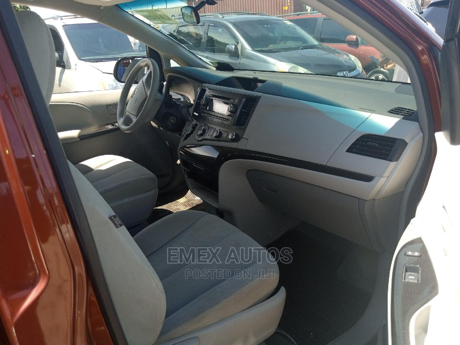 Toyota Sienna 2012 LE 7 Passenger Red | Cars for sale in Apapa, Lagos State, Nigeria