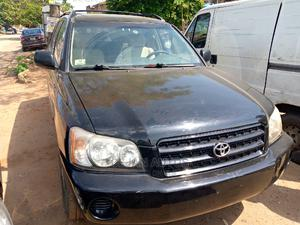 Toyota Highlander 2002 Limited V6 AWD Black | Cars for sale in Lagos State, Isolo