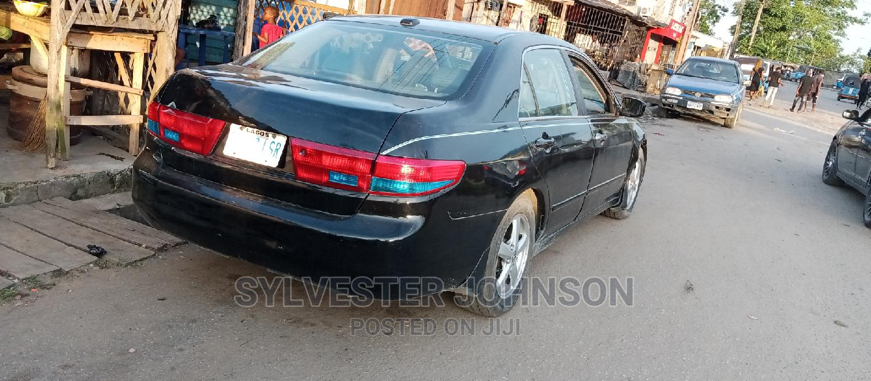 Honda Accord 2004 2.4 Type S Automatic Black | Cars for sale in Warri, Delta State, Nigeria