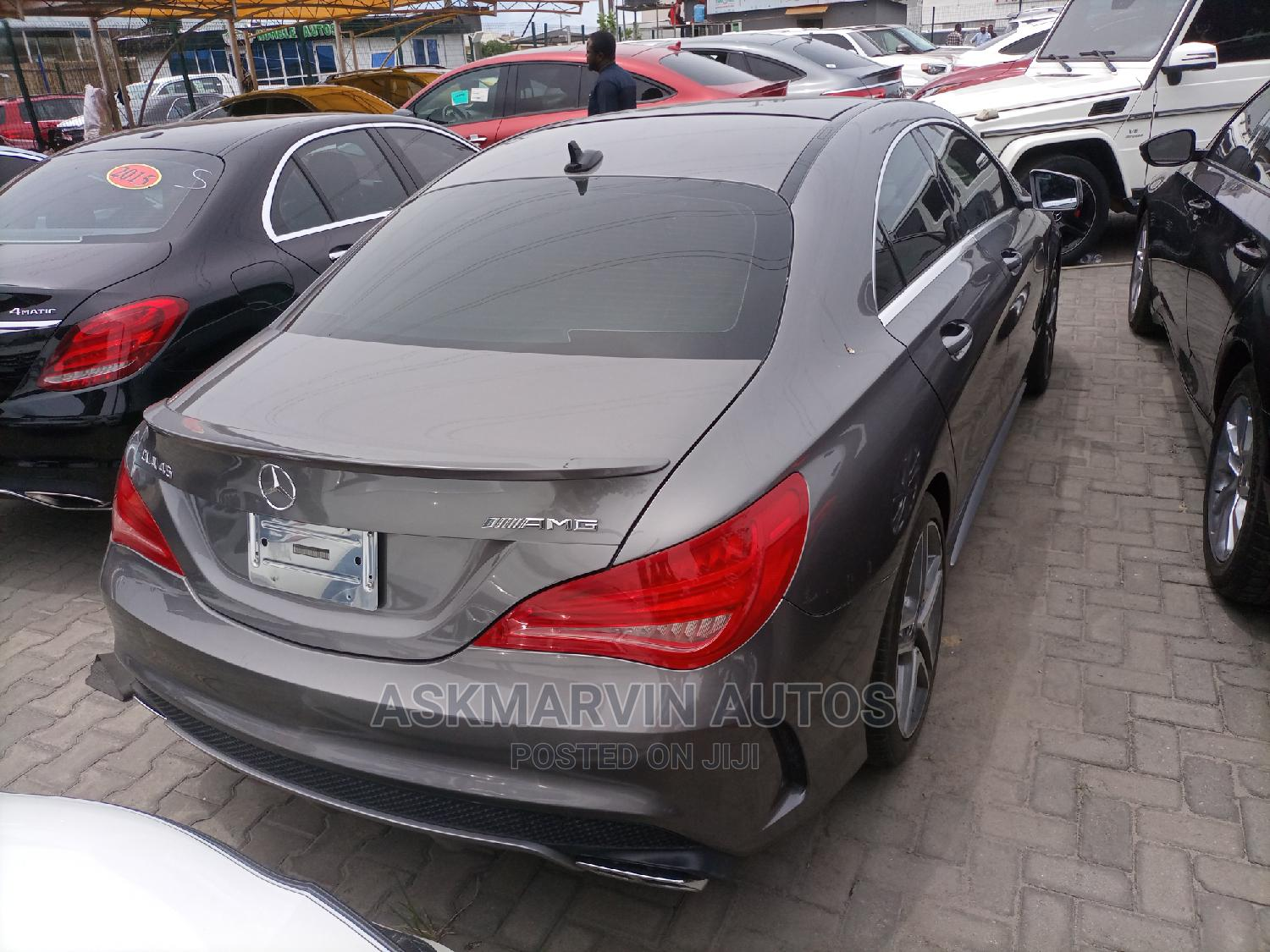Mercedes-Benz CLA-Class 2015 Gray | Cars for sale in Lekki, Lagos State, Nigeria