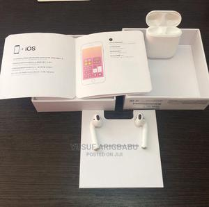 Uk Used Airpod 2 + Pouch | Headphones for sale in Lagos State, Ikeja