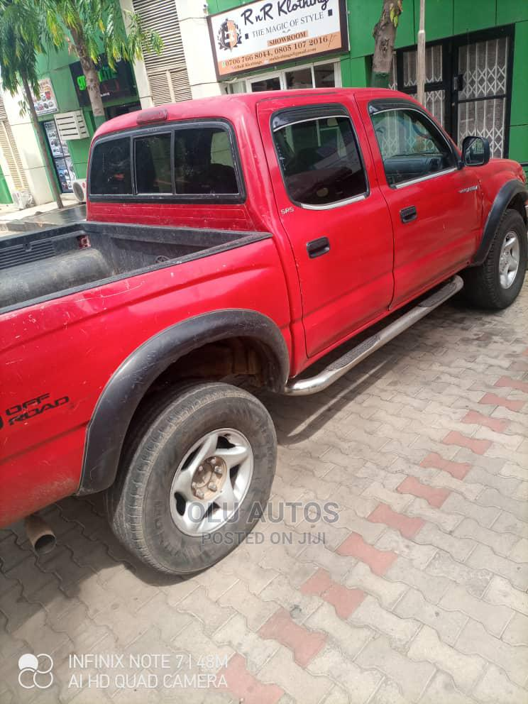 Archive: Toyota Tacoma 2001 Red