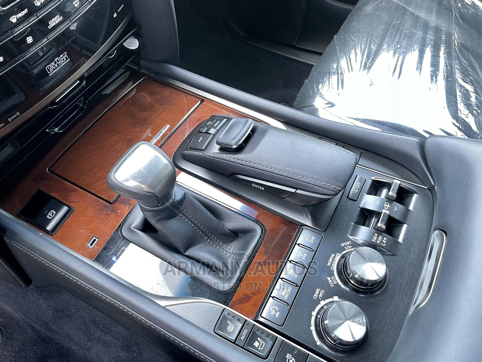 Archive: Lexus LX 2017 570 Base Gray