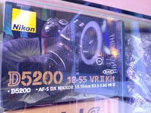 Nikon D5200 18-55 VR11 Kit | Photo & Video Cameras for sale in Lagos State, Ikeja
