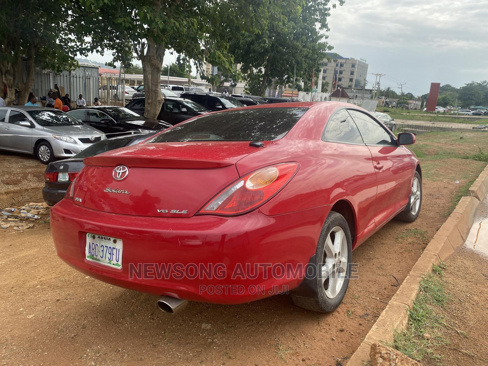 Toyota Solara 2005 Red | Cars for sale in Gwarinpa, Abuja (FCT) State, Nigeria