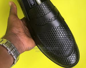 Black Basket Penny Loafers | Shoes for sale in Lagos State, Mushin