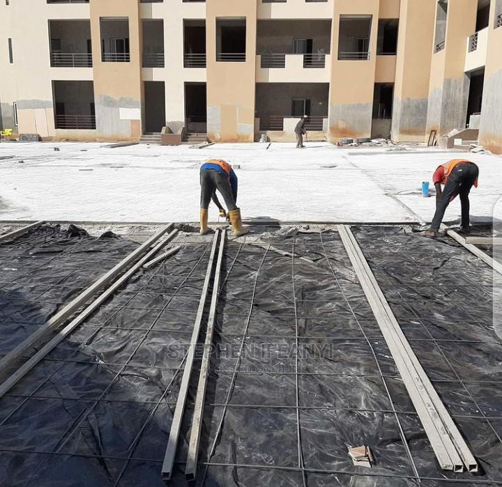Professional Stamp Concrete Floor Installation | Cleaning Services for sale in Gbagada, Lagos State, Nigeria