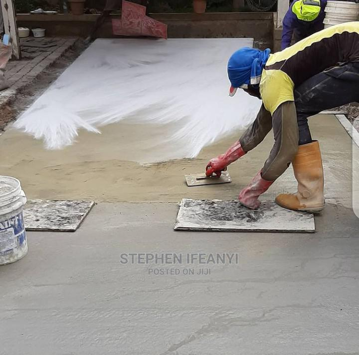 Landscaping/ Stamp Concrete Floor Installation   Cleaning Services for sale in Gbagada, Lagos State, Nigeria