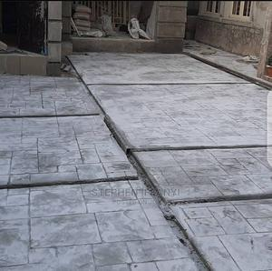 Installation of Stamp Concrete Floor | Building & Trades Services for sale in Lagos State, Gbagada