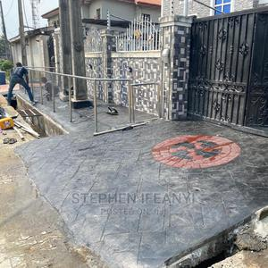 Professional Stamp Concrete Service | Building & Trades Services for sale in Lagos State, Gbagada