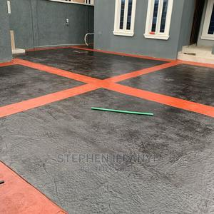 Affordable Stamp Concrete Floor Installation | Building & Trades Services for sale in Lagos State, Gbagada