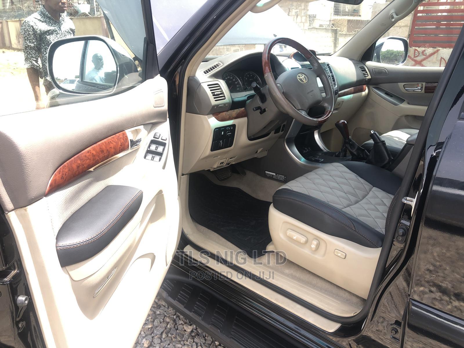 Toyota Land Cruiser Prado 2009 VX Black   Cars for sale in Kaura, Abuja (FCT) State, Nigeria